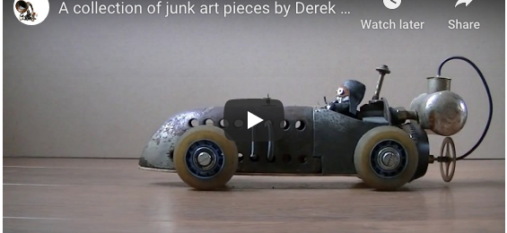 New film – showing a collection of my junkart objects